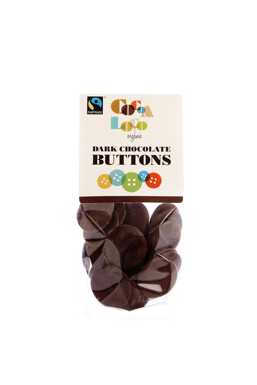 Cocoa Loco Dark Chocolate Buttons