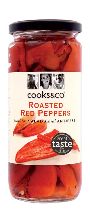 Cooks & Co Roasted Red Peppers