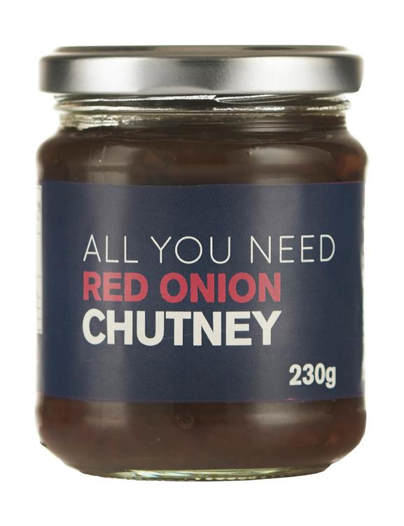 All You Need -  Red Onion Chutney