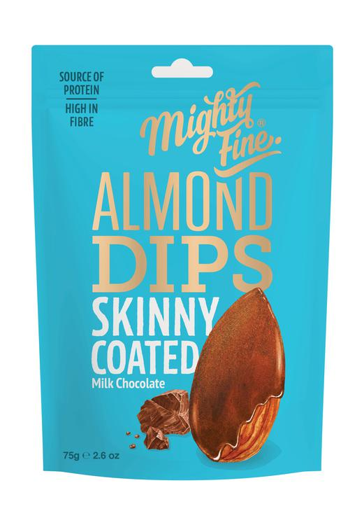 Mighty Fine - Milk Chocolate Coated Almonds